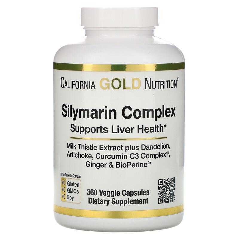 California Gold Nutrition, Silymarin Complex